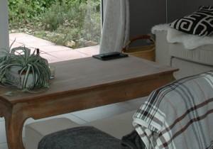 woonkamerdetail in luxe vakantiehuis frankrijk